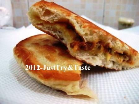 Resep Pizza Goreng Isi Tumis Daging Cincang