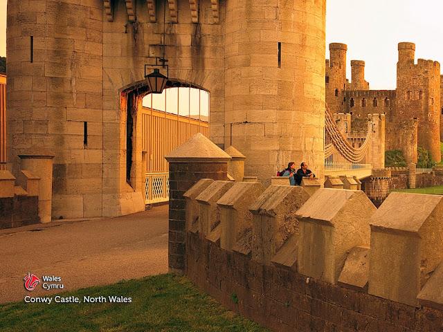 Galles Castello di Conwy