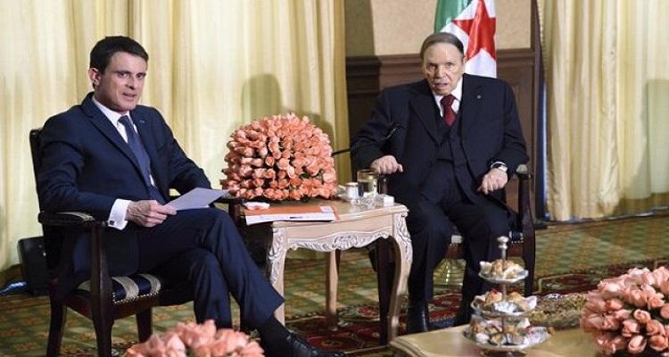 رئيس الوزراء الفرنسي ينشر صورة صادمة لبوتفليقة تثير غضب الجزائريين