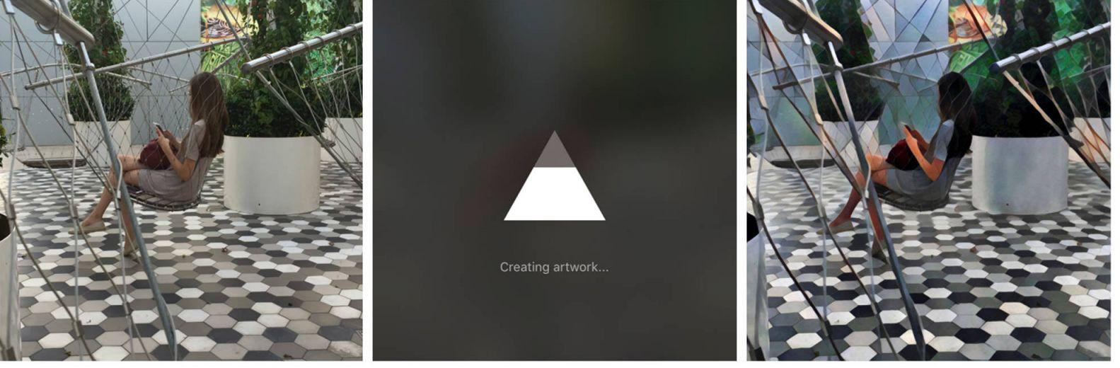 Обработка изображения в приложении Prisma