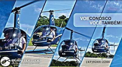 passeio de helicoptero em itapema