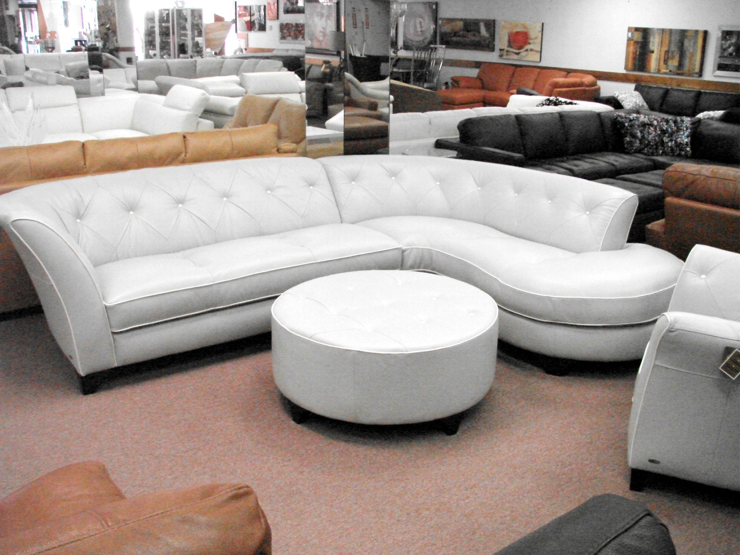 Every item on this page was curated by an elle decor editor. Natuzzi Leather Sofas & Sectionals by Interior Concepts ...