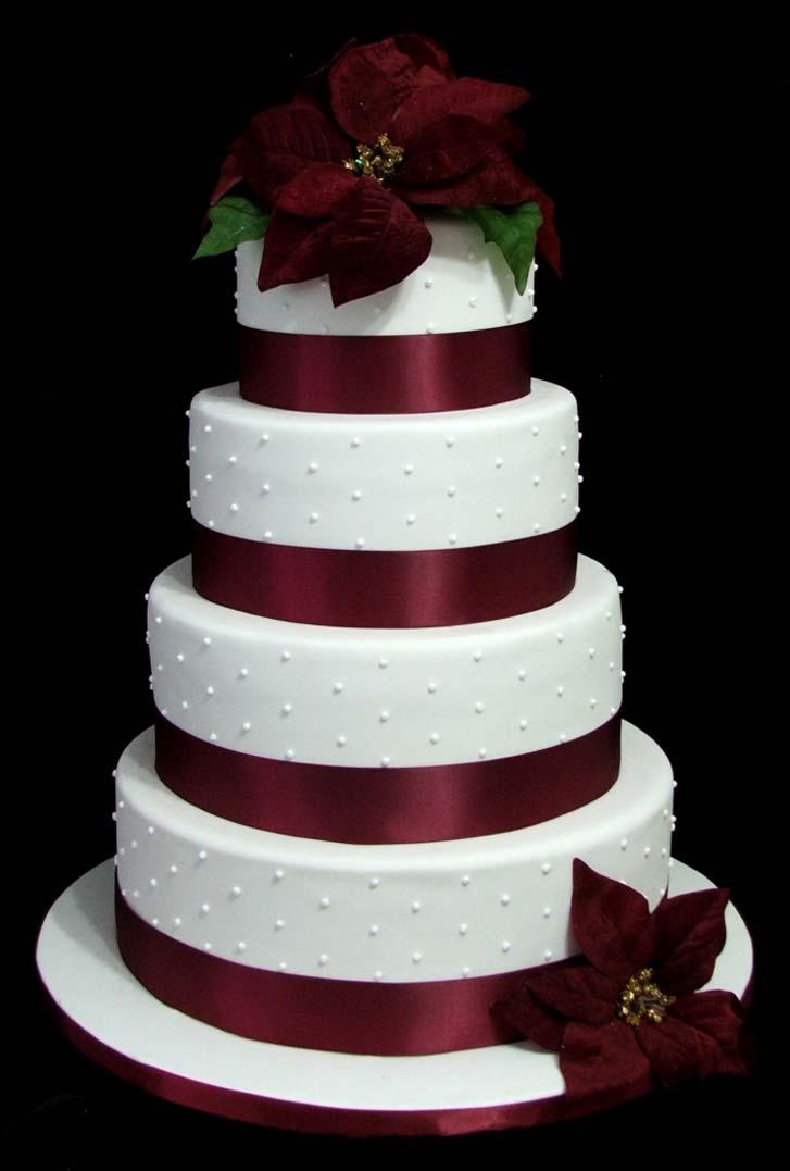 Most Of Popular 9 Christmas Wedding Cakes Cake Magazine