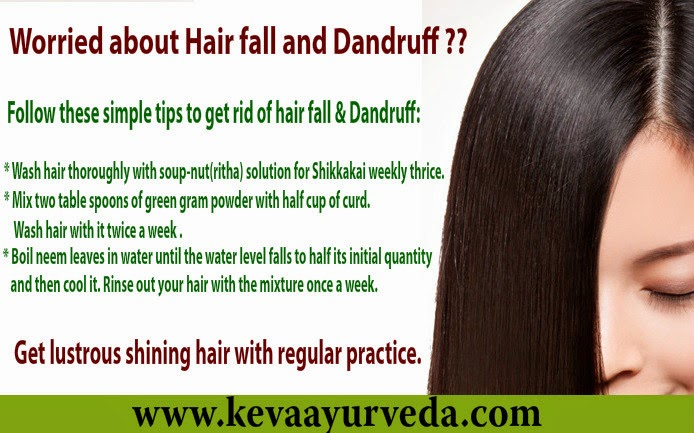 Keva Ayurveda: Home Remedy for Hair fall and Dandruff