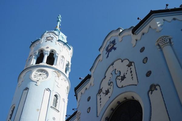 bratislava église bleue sainte elisabeth art nouveau sécession Ödön Lechner