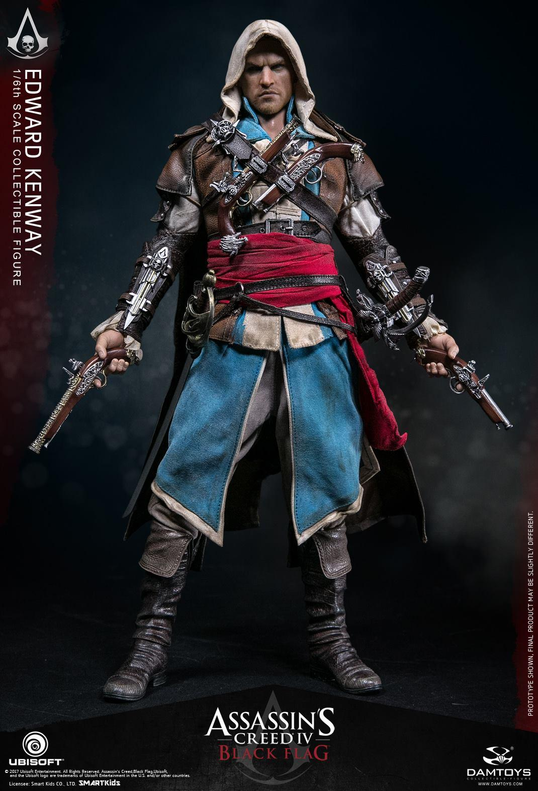 Onesixthscalepictures Dam Toys Assassin S Creed Iv Edward Kenway