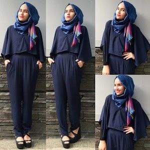 Koleksi Trend Model Baju Muslim Trendy 2018 Casual & Modern
