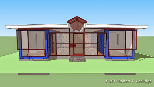 Three Bedroom Container Home Design