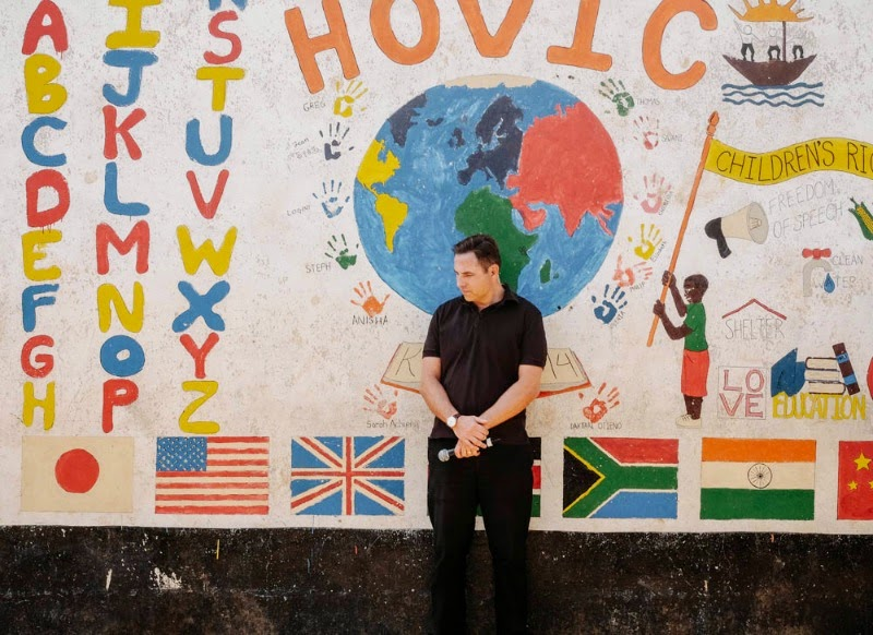 David Walliams at Hovic with Comic Relief