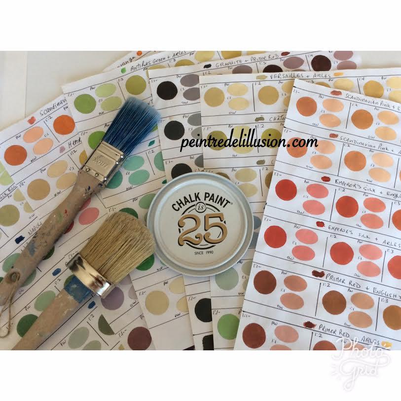 Chalk Paint Annie Sloan Choisir Ou Créer Sa Couleur