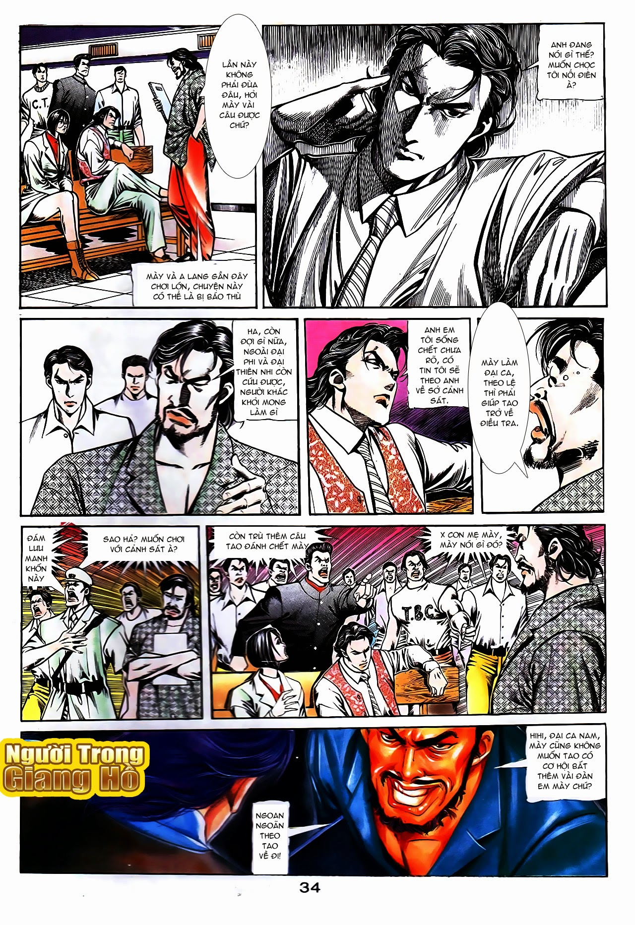 Người Trong Giang Hồ chapter 108: phong vũ cố nhân lai trang 9