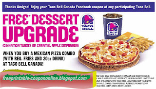 Free Printable Taco Bell Coupons