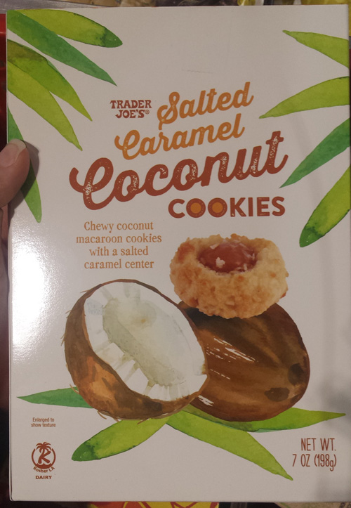 Trader Joe S Is The Best Salted Caramel Coconut Cookies