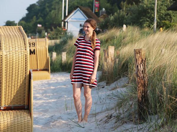 Sommerkleid Streifen