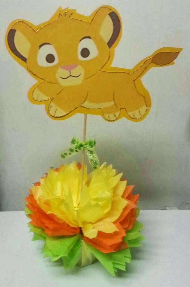Adrianas Creations BABY SHOWER THEME CENTERPIECES