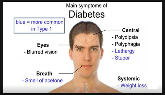 Main Symptoms of Diabetes Mellitus