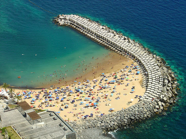 Madeira holidays at a beach, Calheta