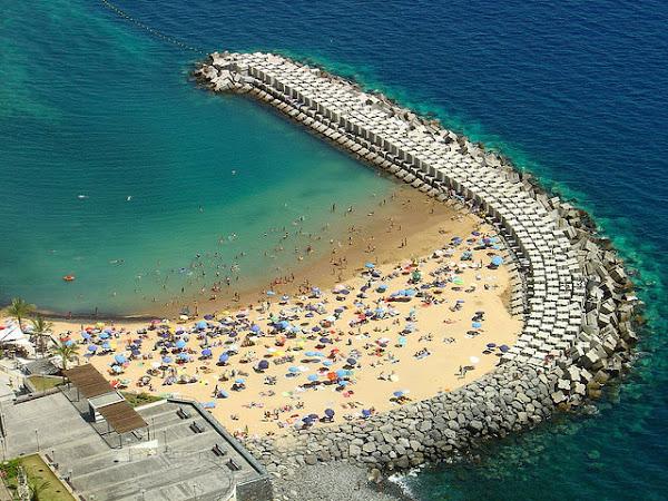 Madeira holidays at a beach, Calheta
