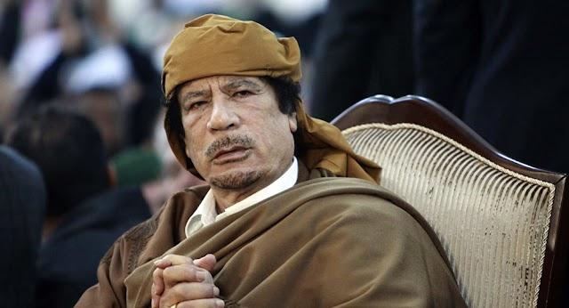 بالفيديو.. القذافي يظهر في مقطع نادر