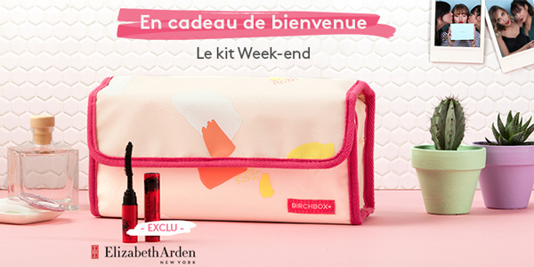 Birchbox - Gang de Filles • Kit Week End