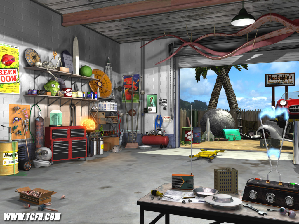 Home Decor Design: The Cool Design for Garage Performance ... on Garage Decorating Ideas  id=40553