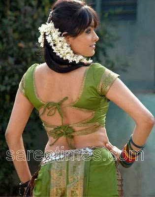 back neck choli