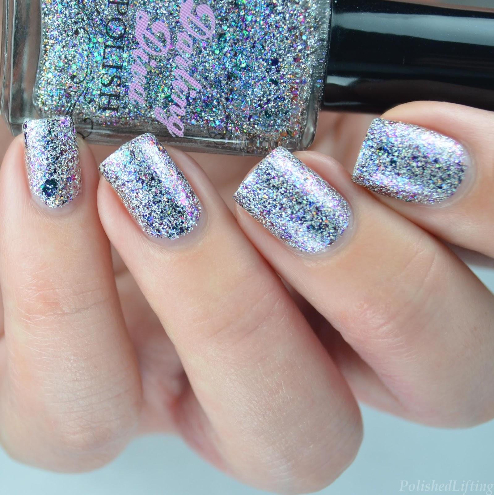 Polished Lifting: MoYou London Kaleidoscope Nail Art featuring ...