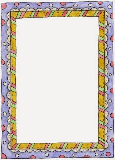 funny polka dots  free printable frames  borders and