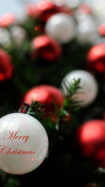 merry christmasquot iphone 7 lock screen wallpaper
