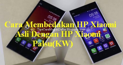 Cara Mengecek HP Xiaomi Redmi Asli