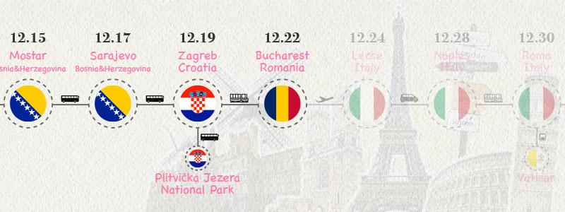 [羅馬尼亞.布加勒斯特] 登博維察河河岸旁正義宮 金氏世界紀錄第二大羅馬尼亞議會宮