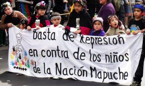 La racista y violenta represión contra el pueblo Mapuche