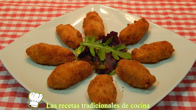 Receta de croquetas cremosas de jamón y queso