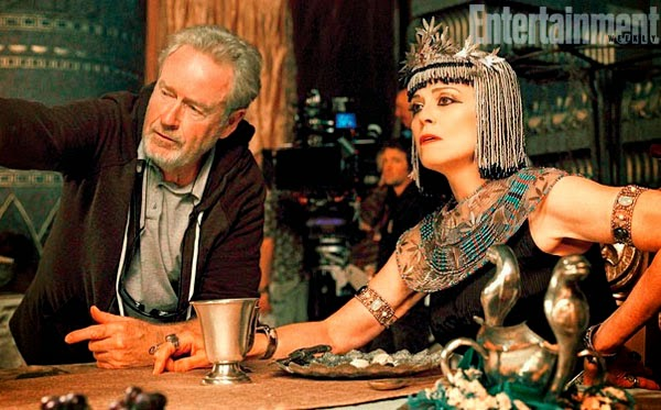 Ridley Scott rodaje Exodus: Gods and Kings