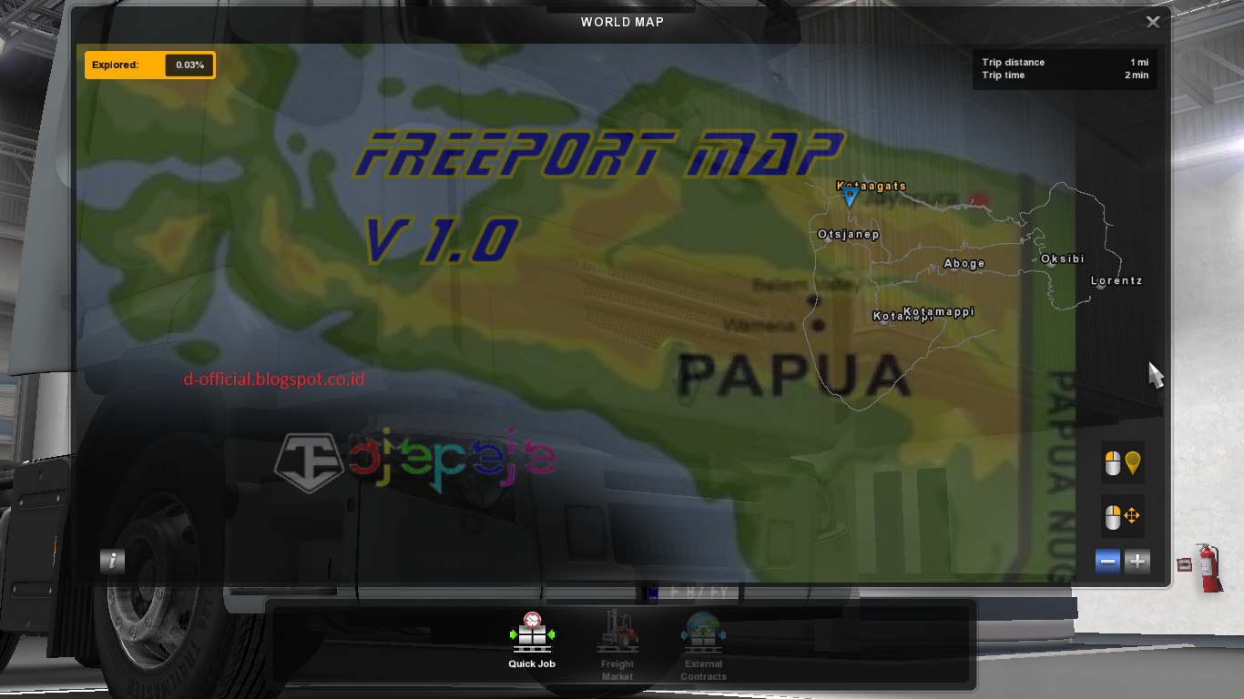New Map Freeport By Oje Peje Team D Official Ets2 Euro Truck Simulator 2 V130 Dan Mod Indonesia Officialblogspotcoid