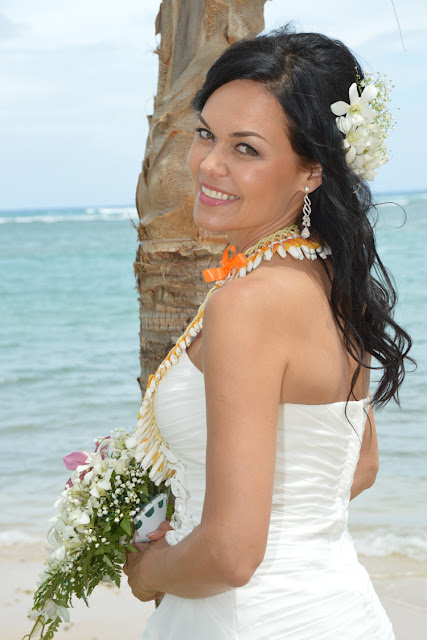 European Bride in Hawaii