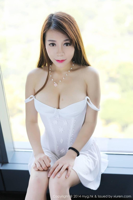 Vetiver嘉宝贝儿 Topless Goddess Gallery Mygirl美媛馆 Myg2015