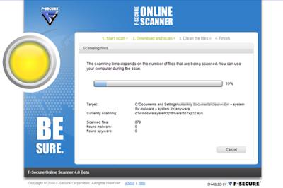 fsecure online virus scanner