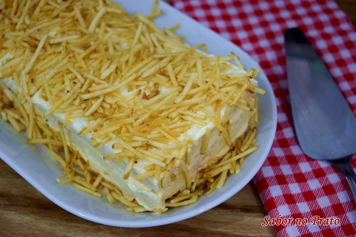 Como fazer Torta Fria de Frango