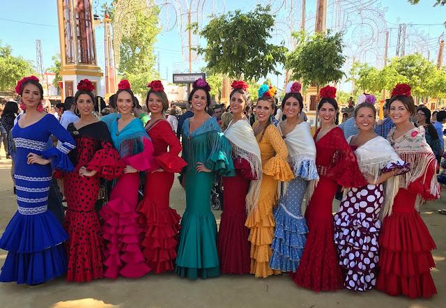 Feria del Caballo - ярмарка лошадей Херес де ла Фронтера
