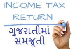 How To Fill Online IT Return Guideline in Gujarati