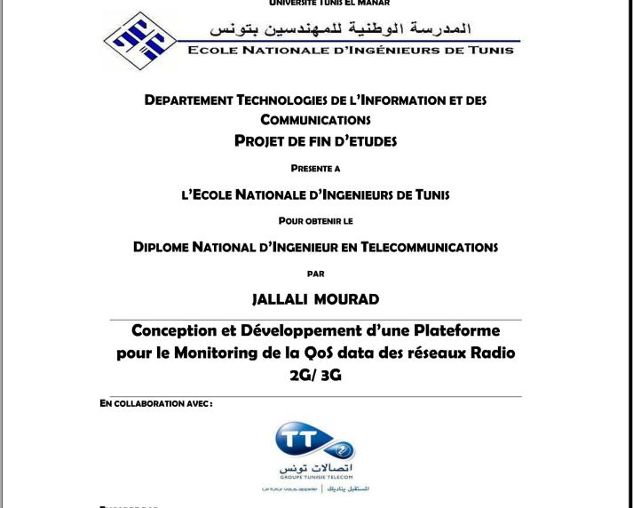 Pdf Exemple De Rapport Pfe Enit Departement