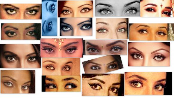 Hindi songs on beautiful eyes
