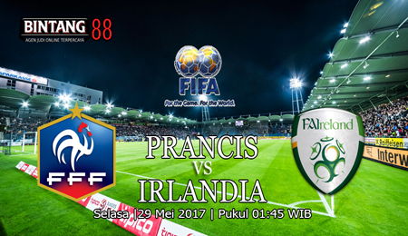 Prediksi France vs Republic Of Ireland 29 May 2018