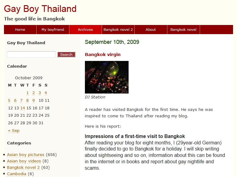 ChristianPFC - Adventures in Thailand: 5th Anniversary of my ...