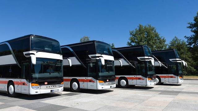 De ônibus de Frankfurt até Munique