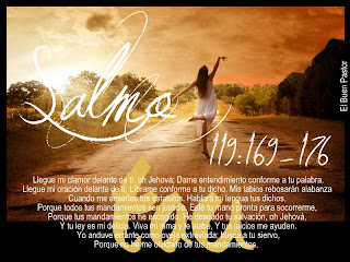 Resultado de imagen de Salmo 119, 169-176