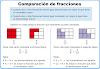 Ejercicios para comparar fracciones