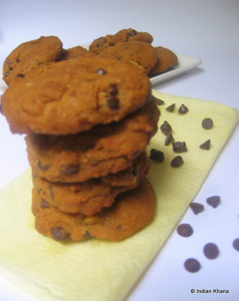 Eggless Chocolate Chip Cookie Recipe