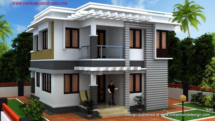 Trendy Villa Design By Shiaz